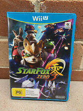 StarFox Zero Star Fox Wii U Game AUS NEW