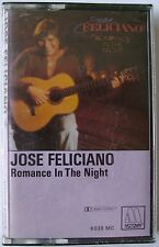 Jose Feliciano:  Romance In The Night (Cassette, 1983, Motown) NEW
