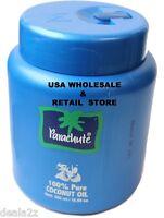 3 x JAR 500ml 17oz Parachute Pure Coconut Oil EDIBLE  HAIR BODY MASSAGE SPA USE