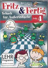 Schach: Fritz & Fertig 4 - Schach für Außerirdische NEU !