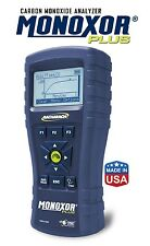 Bacharach 19-8117 Monoxor Plus includes probe and hard carrying case