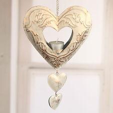 Hanging Tea Light Heart Home Decor Gift Hanger 27cms BRAND NEW