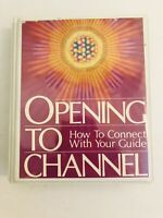 Opening To Channel Audio Cassette Tape Set Vintage 70s Spirituality Metaphysical