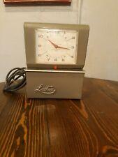 Lathem Time Clock Mid Century Modern