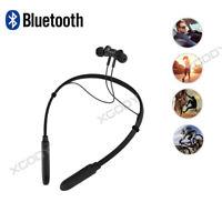 Wireless BT4.1 Universal Headset Sweatproof Earbuds Stereo Sport Handfree In-Ear
