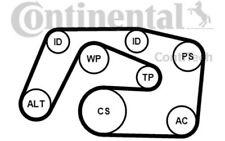 CONTITECH Juego de correas trapeciales poli V para MERCEDES E M 6PK2271K1