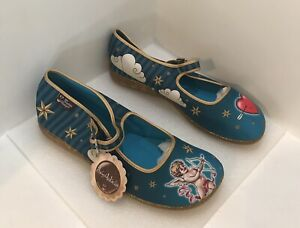 New Hot Chocolate Design Mary Jane Shoes Chocolaticas Cupid Size 41