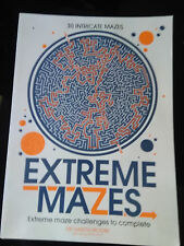 Extreme Mazes: Mind-Bending Mazes to Solve by Gareth Moore (Paperback, 2016)