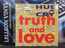 Hue & Cry Truth And Love LP Album Vinyl Record FIDELP1 A1/B1 Pop 90's