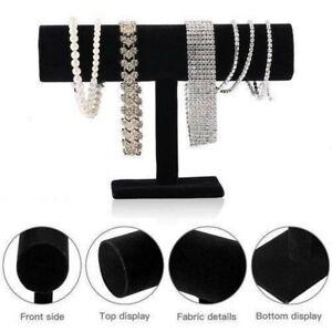 T-Bar Display Stand Holder Organizer Bracelet Jewelry Watch Headband USA