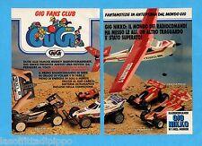 TOP990-PUBBLICITA'/ADVERTISING-1990- GIG NIKKO - CESSNA SUNLIGHT 7 -2 fogli