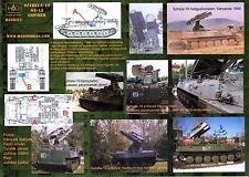 "Hungarian Aero Decals 1/35 SZTRELA-10 SA-13 ""GOPHER"" Missile Launcher"