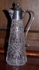 Art Glassware Decanter Clear Crystal & Cut Glass