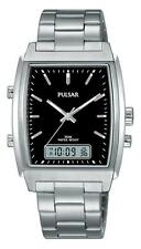 Gents Pulsar Classic Analogue/Digital Watch PBK031X1 RRP £89.95 Now £59.95