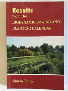Results from the Biodynamic Sowing and Planting Calendar Maria Thun P/B 2003
