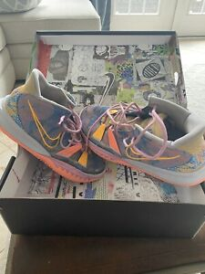 Nike Kyrie 7 Preheat Expressions Ghost/Laser Orange, Mens sz 10.5, DC0588-003