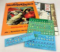 SPI Strategy & Tactics Magazine w/ Game #138 Napoleon at Eylau ~ 1990 Unpunched