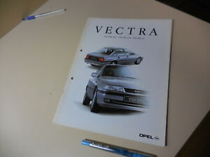 OPEL VECTRA Japanese Brochure 1994/11 E-XC200/250 C20/25  Red Memo Punched-Holes