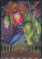 1995 Marvel Metal Trading Card #4 Gambit