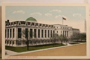 Washington DC National Museum North Front Postcard Old Vintage Card View Post PC