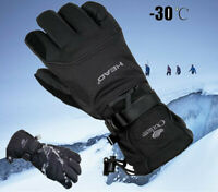 -30 ℃ Winter Snowmobile Riding Gloves Snow Motorcycle Ski Mens Glove Waterproof