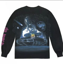 "Travis Scott x Mcdonalds ""Action Figure Space� Xlarge L/S Cactus Jack Sealed"