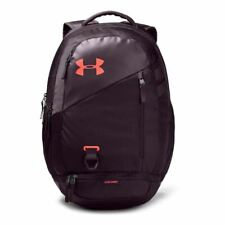 NWT Under Armour Hustle 4.0 Backpack Brasilia Prime Student Kinetic Purple