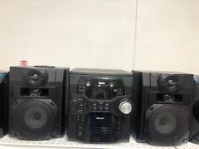 RCA RS2867B 300-Watt 5-CD Bluetooth Music Shelf System