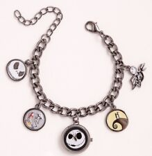 Disney Nightmare Before Christmas Charm Bracelet Watch