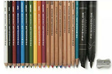 PRISMACOLOR Premier Art Kit 21ct Colored Pencils Blender Marker Sharpener NO BOX