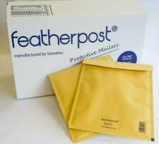 500x SIZE A FEATHERPOST PADDED BUBBLE ENVELOPES BAGS JIFFY QUALITY MAILERS GOLD