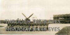 Original photo WW2 RAF 152 Squadron Spitfire & men RAF Tengah  Singapore 1946