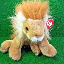 NEW Ty Classics Original Beanie SAHARA The Lion Large Plush Toy [12''] - MWMT