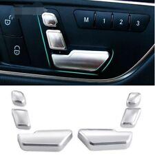 Chrome Door Seat Adjust Buttons Switch For Mercedes-Benz E Class W212 218 CLS GL