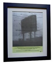 REM+Strange Currencies+POSTER+AD+ORIGINAL 1995+QUALITY FRAMED+FAST GLOBAL SHIP