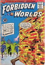 Forbidden Worlds #93 - Dr Chameleon App - 1961 (3.0) Wh