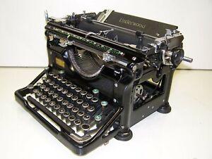 Antique 1938 Underwood Government Model 6 Vintage Typewriter #4916512-11