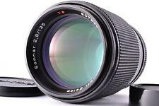 Top Mint Contax Carl Zeiss Sonner T* 135mm f2.8 MMJ C/Y Mount Lens Caps MF Japan