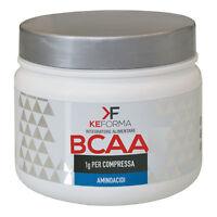 KeForma BCAA 300cps Aminoacidi Ramificati di Alta Qualità 1gr di BCAA per cps