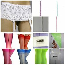 Synthetic Suspender Belts for Women
