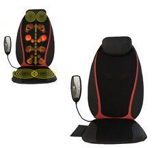 Shiatsu Back Massage Ball Chair Pad Vibration Seat Neck Cushion Body Massager