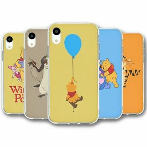 For iPhone XR Silicone Case Cover Disney Winnie The Pooh Collection 2