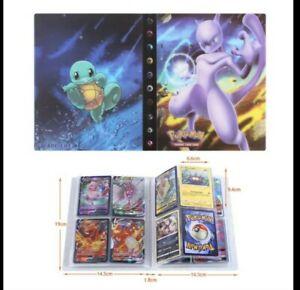 Album Pokemon Porte Cartes Pikachu 240 Emplacements couverture mewtow