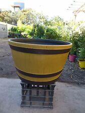 Pots Wine Barrels Resin   640mm diameter  x 390mm hgt       $69-00ea  NEW LINE