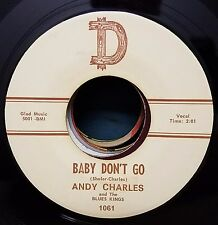 Andy Charles RAB Rockabilly 45 Love Come Back / Baby Don't Go D 1061