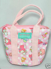 SANRIO My Melody Mini Tote Pouch Pink School Stationary Bag Case Kawaii Japan