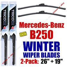 WINTER Wipers 2-Pack Premium Grade - fit 2013-2015 Mercedes-Benz B250  35260/190