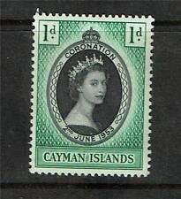 Cayman Is 1953 Coronation SG 162 MNH