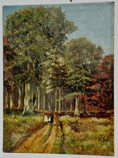 Handsignierte Malerei auf Leinwand von 1800-1899