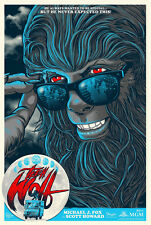 Teen Wolf Poster - Variant - Gary Pullin - Limited Edition of 75 - GID